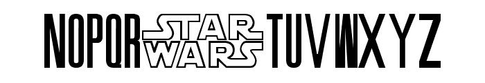 SW Crawl Title Font UPPERCASE