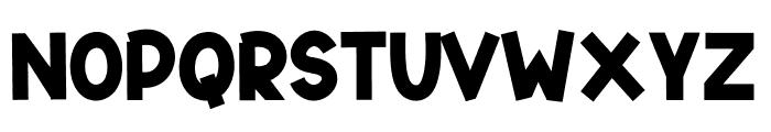 SWEETY BAEZ Font UPPERCASE