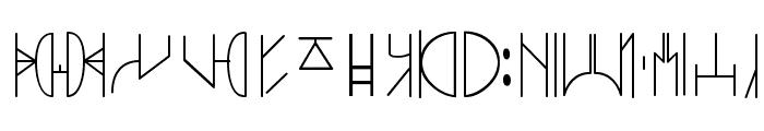 SWyavin4 Font UPPERCASE