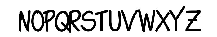 Swagger Font UPPERCASE