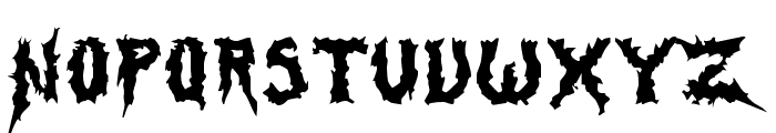 Swamp Thing Font UPPERCASE