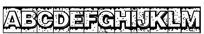 Swamp Type Font UPPERCASE