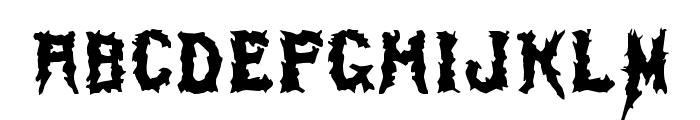 SwampTerror Font LOWERCASE