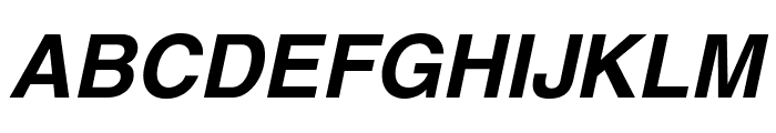 Swansea Bold Italic Font UPPERCASE