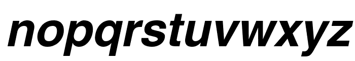 Swansea Bold Italic Font LOWERCASE