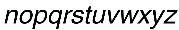 Swansea Italic Font LOWERCASE