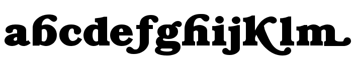 Swash  Normal Font LOWERCASE