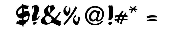 Swashett Normal Font OTHER CHARS