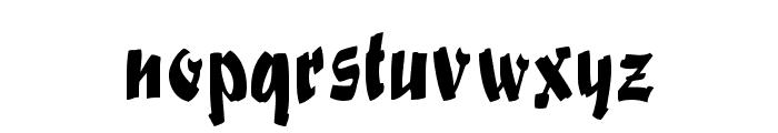 Swashett Normal Font LOWERCASE