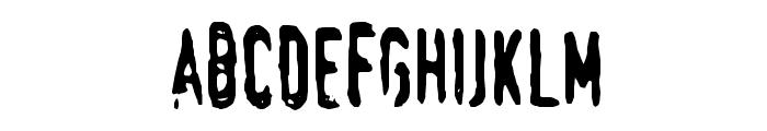 Swede-Trauma Font LOWERCASE