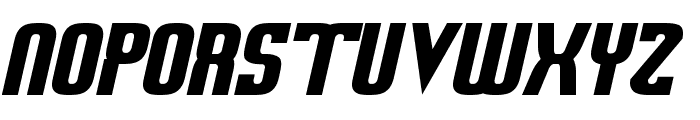 Sweden Funkis RegularOblique Font UPPERCASE