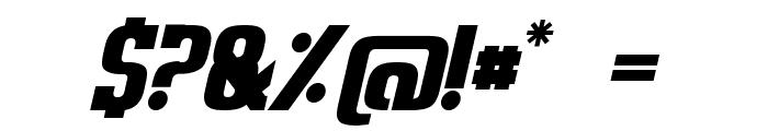 Sweden Funkis StraightOblique Font OTHER CHARS