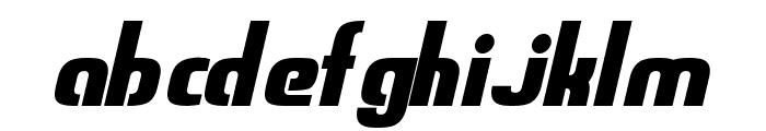Sweden Funkis StraightOblique Font LOWERCASE