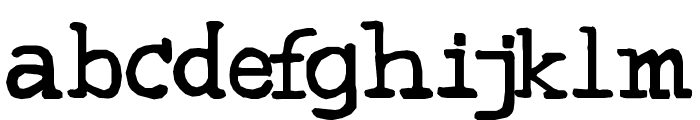 Sweeep Font LOWERCASE