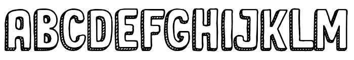 Sweet Cake Font UPPERCASE