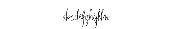 Sweet Getaway DEMO Regular Font LOWERCASE