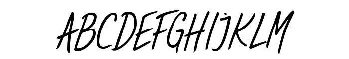 Sweet Handwrite Regular Font UPPERCASE
