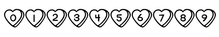 Sweet Hearts BV Font OTHER CHARS