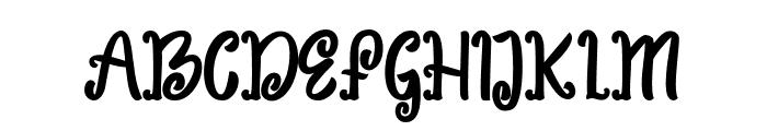 Sweet Peas Font UPPERCASE