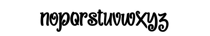 Sweet Peas Font LOWERCASE