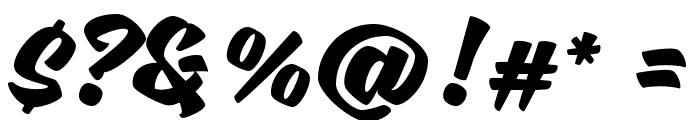 Sweet Sorrow Font OTHER CHARS