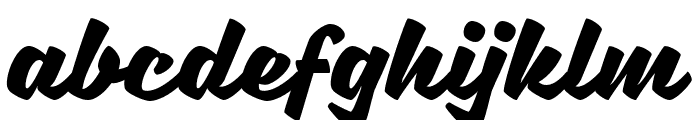 Sweet Sorrow Font LOWERCASE