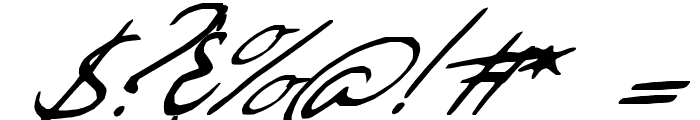 Sweet Steeffie Font OTHER CHARS
