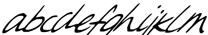 Sweet Steeffie Font LOWERCASE