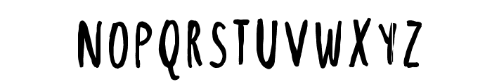 SweetDarkness Font LOWERCASE