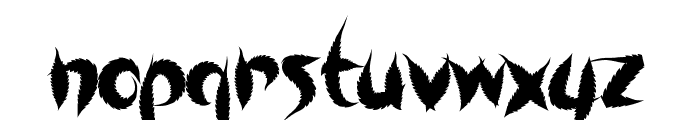 SweetLeaf Font LOWERCASE