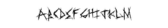 SweetRevenge Font UPPERCASE