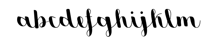 Sweetheart Script Medium Font LOWERCASE