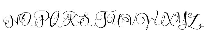 Sweetline Free Demo Font UPPERCASE