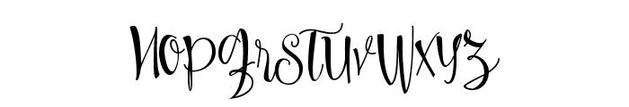 Sweetline Free Demo Font LOWERCASE