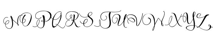 SweetlineFreeDemo Font UPPERCASE