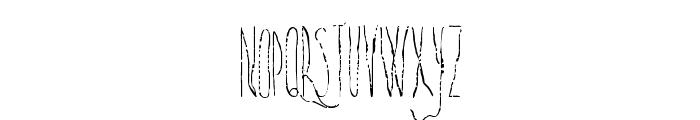 SwiftDeath-Regular Font LOWERCASE