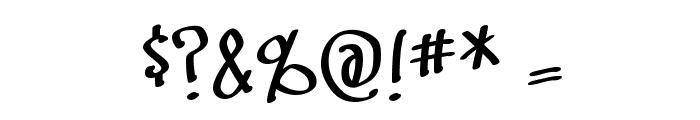 SwingSet BB Font OTHER CHARS