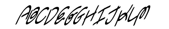Swingers Font UPPERCASE