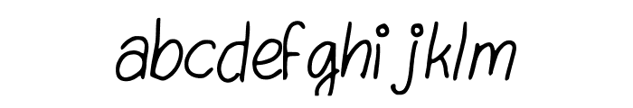 Swirl_ Font LOWERCASE