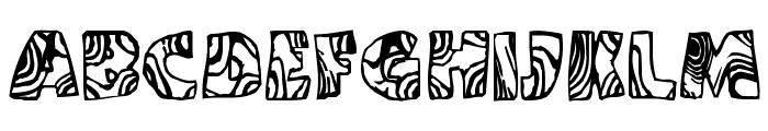 Swirled BRK Font UPPERCASE