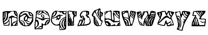 Swirled BRK Font LOWERCASE