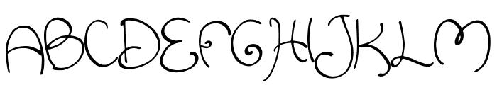 Swirlish_sun_Regular Font UPPERCASE