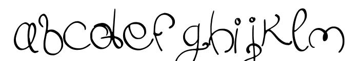 Swirlish_sun_Regular Font LOWERCASE