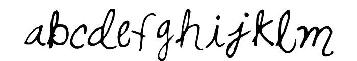 SwirlsandCurls Font LOWERCASE