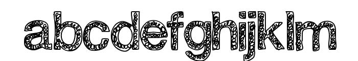 Swirlvetica Font LOWERCASE