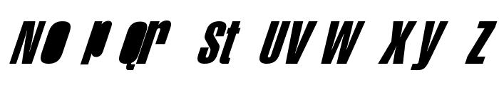 Swis AntiNormal Condensed Normal Font LOWERCASE