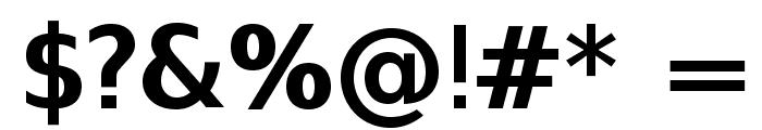 SwitzeraADF-Bold Font OTHER CHARS