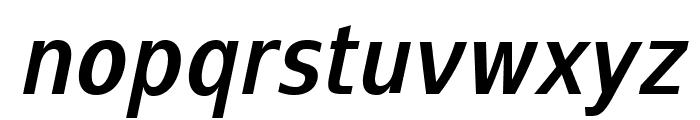 SwitzeraADF-BoldCondItalic Font LOWERCASE