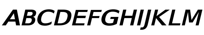 SwitzeraADF-BoldExtItalic Font UPPERCASE
