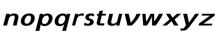 SwitzeraADF-BoldExtItalic Font LOWERCASE